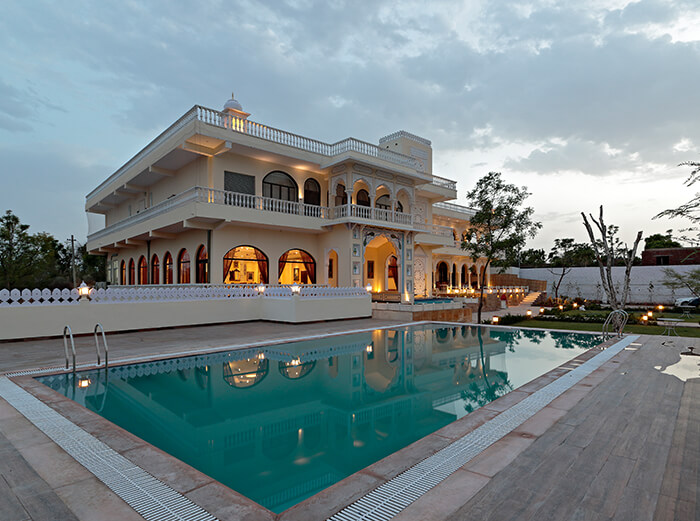 Best hotels in jaipur for tourists, family with pool
